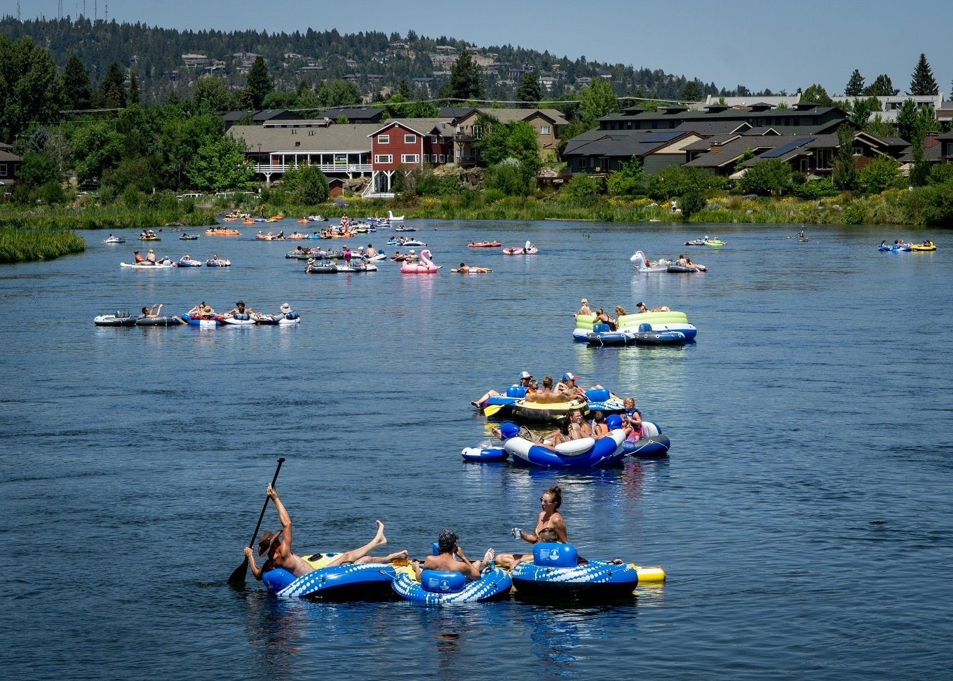 Bend Oregon Float the Deschutes River