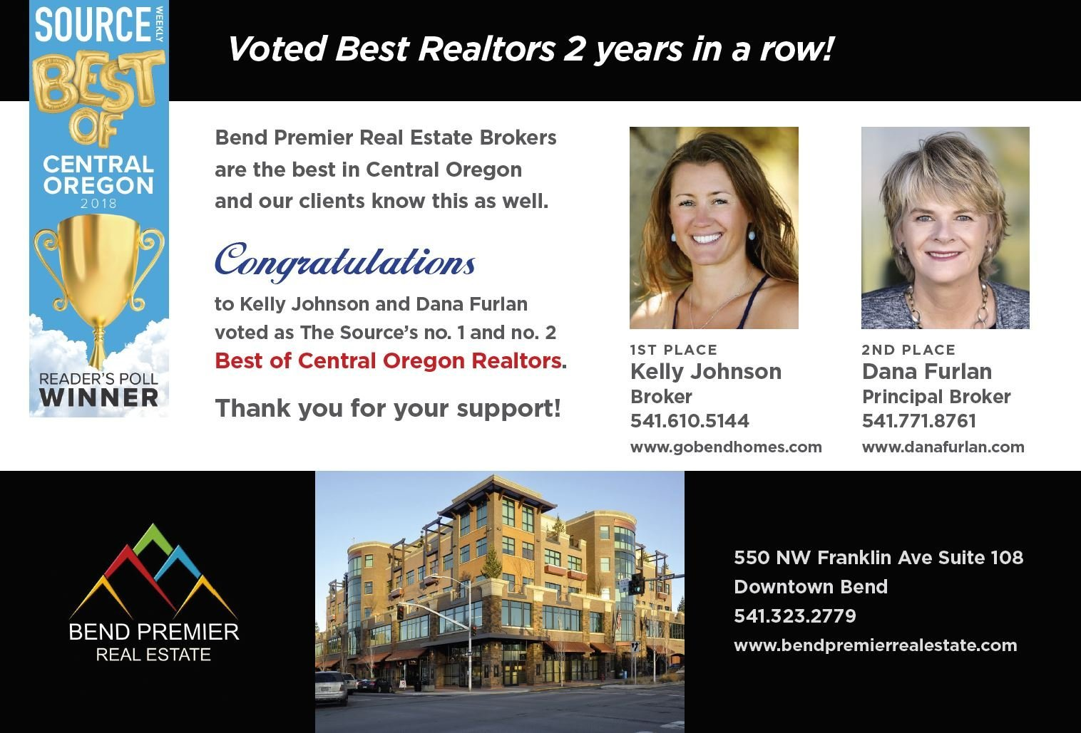Best of Bend Realtors Award
