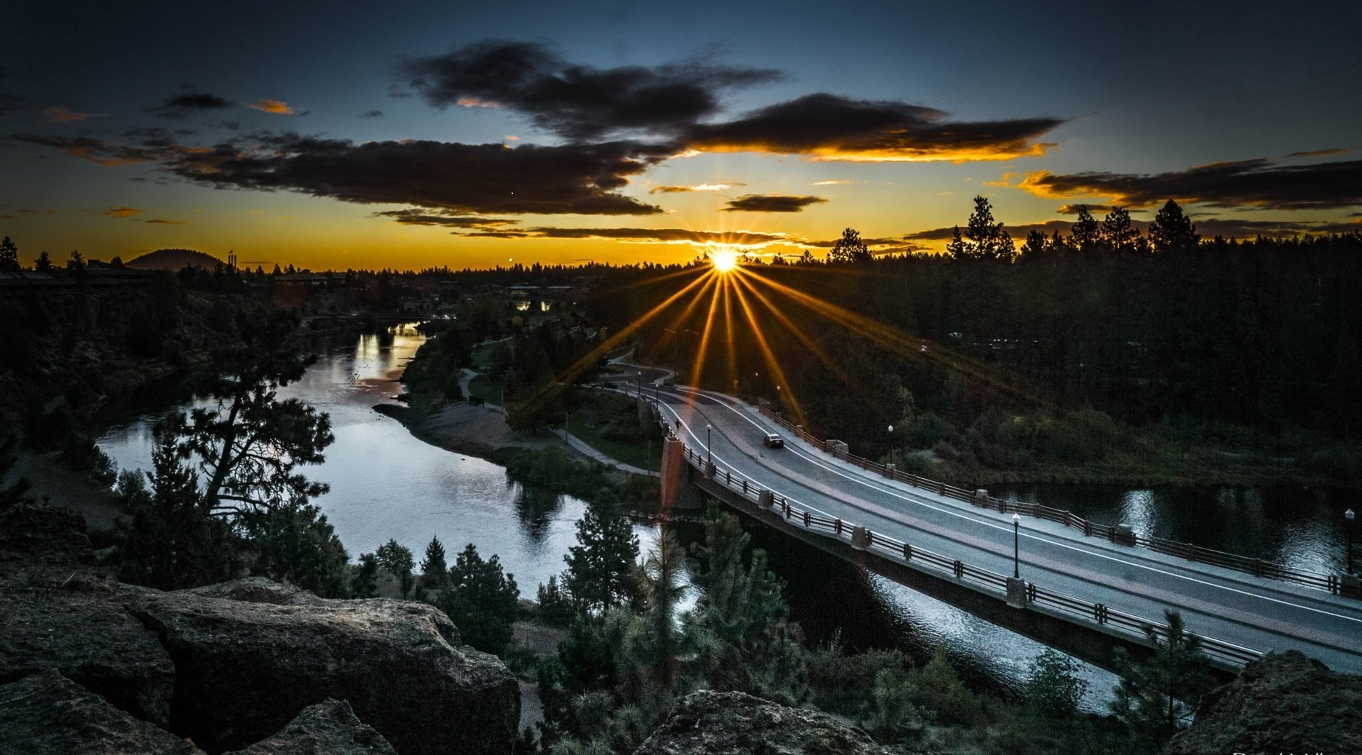 Sunrise in Bend Oregon