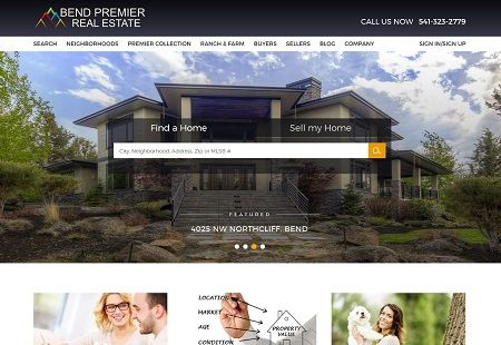Our Real Estate Website